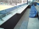 VIP трибуна на стадионе Spidvejs ,Daugavpils
