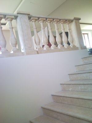Комплект балюстрады и внутреняя лестница