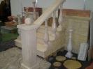 Балюстрада для лестниц цвет- слоновая кость